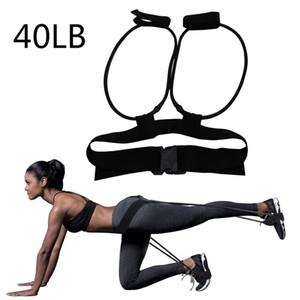 2019 Mode Yoga Pull Band Stretching Belt Übungswiderstand Booty Band für Beine und Hintern Indoor-Sport