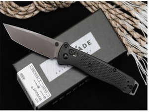 Recommend New butterfly 537 G10 D2 blade Axis Quick Open Folding knives Nylon Glass Fiber Handle Camping Pocket EDC knife