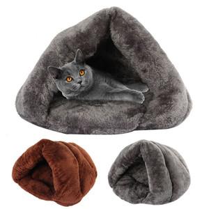 Зимняя теплая для домашних животных для собак кошка мягкий флис маленькие собаки щенок питомника кровать спальный мешок коврики Pet House Products Wildstar 201225