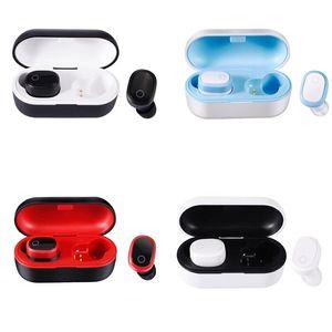 DT-6 TWS TWS écouteurs sans fil Bluetooth 5.0 Sport écouteurs stéréo Casque stéréo 3D avec son microphone de charge Boîte DT-1 DT-9 Buds Air 3