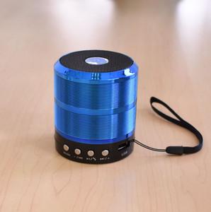 2019 Sıcak satış WS887 Bluetooth hoparlör metal duyarlı küçük çelik tabanca taşınabilir mini-kablosuz FM radyo hoparlör yeni