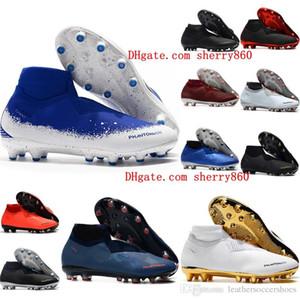 futbol botları fazla 2019 erkek futbol ayakkabıları Phantom VSN Gölge Elite DF AG-PRO futbol krampon Oyun da calcio kazımanıza