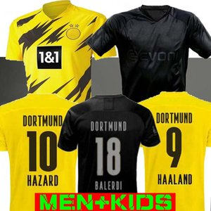 MAN + KIDS 19 20 21 Dortmund Borussia REUS M.GOTZE Paco Alcácer Trikots SOCCER 2019 2020 Blackout SANCHO Hummels Haaland Sporthemd 2020