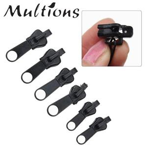 6Pcs universale Zipper fai da te kit di riparazione sostituzione Zip Slider Denti di soccorso Cerniere correzione per l'abbigliamento fai da te Accessori di cucito