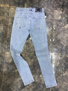 Mens Jeans Jeans Designers Bieber Pantaloni Uomo strappato progettista dei jeans di moda Black Star Mens tuta Designer Denim Maschio Pantaloni TOP 29-40