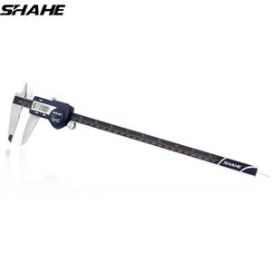 Shahe Präzisions-elektronische Digital Schieber 300 mm elektronischer Digital Schieber Stahl-Messschieber Paquimetro Digital T200602