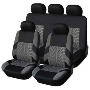 مقعد سيارة غطاء تناسب معظم سيارات سيارة الجبهة المقعد الخلفي حامي يغطي وسادة اكسسوارات التصميم الداخلي السيارة مجموعة غطاء وسادة