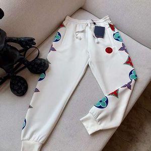 altos mulheres End Girls Calça de Jogging elástico da cintura patchwork letra do monograma padrão de patch leggings moda casual calça calças de design de luxo