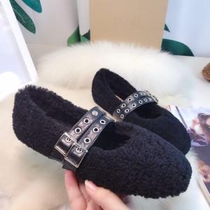 2020 nuova lana di disegno singoli pattini scarpe di soia caldo morbido comodo di alta qualità unica della moda