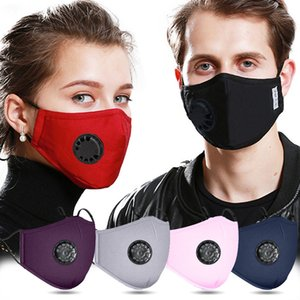 Daily Mask pm2.5 dust mask protective full cotton with valve Sport mask replaceable filter