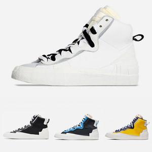 OG Blazer Mid ile Dunk Erkek Ayakkabı Koşu Yüksek Cut Beyaz Gri Siyah Üniversitesi Mavi Varsity Mısır erkek spor ayakkabı 40-45
