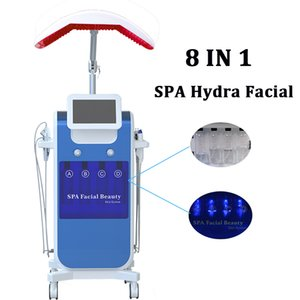 Enlèvement des cicatrices microdermabrasion peau ultrasonique pelage hydra beauté machine de dermabrasion enlever les cellules mortes de la peau Oxygen Injector Spray Gun