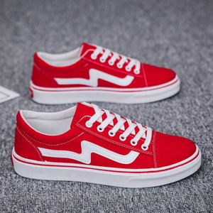 Mode Chaussures Casual coréen robuste Chaussures Low Cut Plimsolls 50% Chaussures Hommes Automne Conseil Ulzzang Skate Sneakers