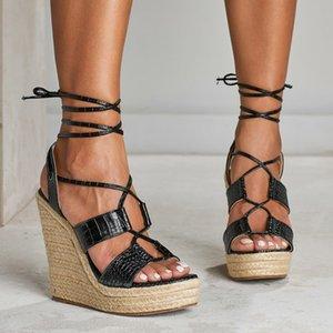 Goddess2019 Rome Women Straw Plaited Artículo Pendiente Con Chalaza Woman Flange Will Code Sandals