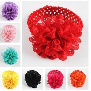 bandeaux bébé filles cheveux accessoires fleur évider bandeau habiller bandeau pour accessoires bandes de cheveux bandeau bébé flowe