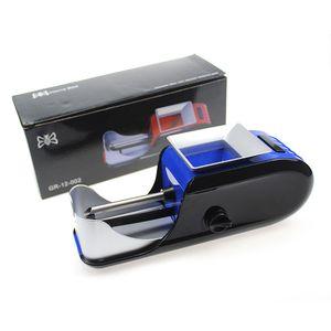 8mm Elektrische Zigarettenhersteller Automatische Zigarettenwalzmaschine Auto Tabakinjektor Maker Roller EU US-Stecker Herbblatt DIY Rollmaschine