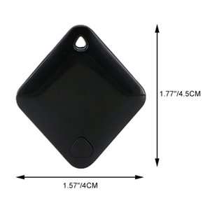 Mini Portable Bluetooth Tracker GPS Locator Anti-lost Tag Alarm Tracker For Pets Dog Cat Child Car Wallet Pet Products