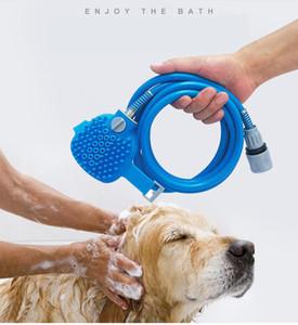 New Pet Facendo il bagno comodo strumento per massaggi doccia per pulizia Lavare Bagno Spruzzatori cane pennello Pet Supplies all'Ingrosso