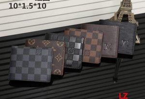 유럽 스타일 브랜드 지갑 패션 남성 미니 지갑 PU 소재가 0817 멀티 카드 열려있는 카드 지갑 지갑 디자이너