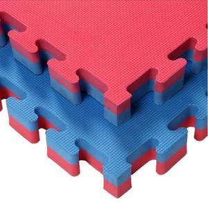 entrelazado eva material tatami judo estera Espuma Enclavamiento Pisos EVA Espuma Azulejos Gym Puzzle