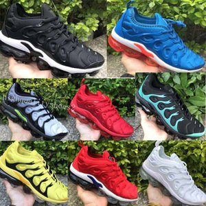 Nike Air VaporMax Plus TN BETRUE TN BETRUE Scarpe da corsa Scarpe da uomo Scarpe da donna Maglia TPR Cotone bianco nero di buona qualità Nuovo arrivo EUR 36-45 Drop Shipping