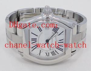 Livraison gratuite grande taille Bracelet en acier inoxydable Mens automatique mécanique Montres W62025V3 Date Hommes Montres