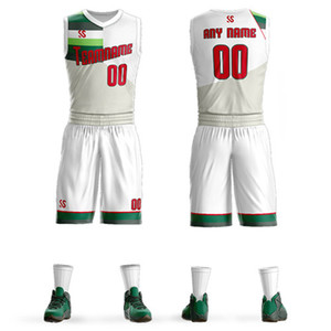 обычай баскетбольная форма лучший дизайн последней баскетбольной майки сублимированный дышащий баскетбольный комплект трикотажа