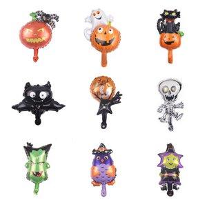 Palloncini foil di zucca di Halloween globos mickey decorazioni di halloween Palloncini festa fai-da-te Bat Ghost Halloween Elio Balloon