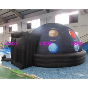 5m DIA portatile gonfiabile Planetario tenda gonfiabile mobile Cupole con stampa completa