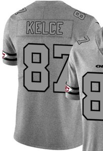 Chanvre Ash Throwback Limited Jersey Man Kansas Homme Ville 15 87 Chemises en jersey Toutes les équipes maillots de football américain