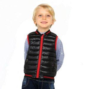 Pudcoco Toddler Kids Baby Girl Jackets Vest Outwear Winter Warm Thick Zip Sleeveless Fleece Waistcoat Coats Children Clothing