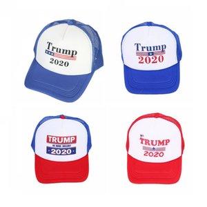 Cheap Wholesale Prix d'Amérique 2020 Président Élection Donald Trump Baseball Cap été Mesh Trump Chapeaux à vendre