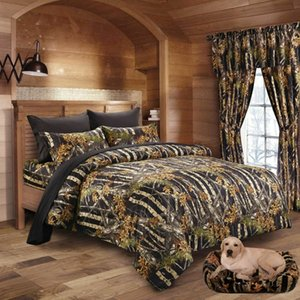 7 pc BLACK CAMO QUEEN SIZE SET!! KING COMFORTER QUEEN SHEET CAMOUFLAGE BEDDING
