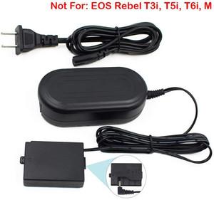 ACK-E10, FlyHi ACK-E10 Adaptateur secteur DR-E10 Kit Chargeur DC Coupler (remplacement pour LP-E10) pour Canon EOS Rebel T3, T5, T6, T7, T100