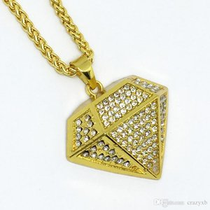 Fashion3D Diamonds Necklace Tattoo Choker Aromatherapy Necklace Diffuser Pendant Stainless Cone Bijoux BFF Jewelry Diamante