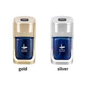 Baño automático de jabón Dispensador de inducción Touchless Manos Lavadora ABS montado en la pared de infrarrojos espuma dispensador de jabón DDA35