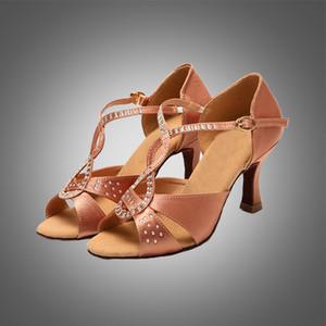 trasporto libero S5568 della donna scarpe da ballo di perforazione a caldo / sala da ballo scarpe da ballo latino / danza scarpe scarpe latino