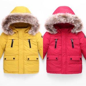 Children's down jacket 2019 thickened winter Down jacket coat baby children's coat top