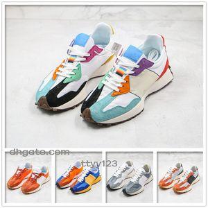 baskets rétro 2020 hommes 327 chaussures de course chaussures de sport adaptés pour l'entraîneur de basket-ball de sport en plein air de jogging c2 respirant fond épais