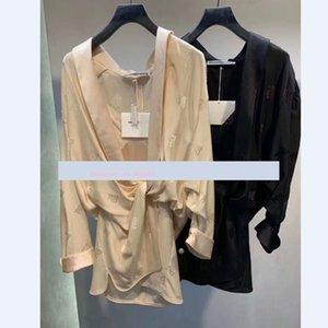 Gerçek Resimler Kadın Tulumlar tulum Dantel dongguan_ss Sokak Kızlar Gömlek Kadınlar Bahar Yeni Uzun Kollu Crop Tee Seksi moda Tops