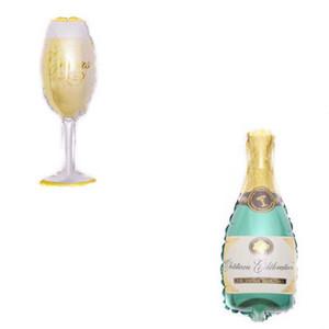 Qualitäts-Champagne Weinbecher Whiskyflasche Ballon 30 Jahre alt Alles Gute zum Geburtstag-Partei-Dekor gealtert zur Perfektion Goldkönigkrone