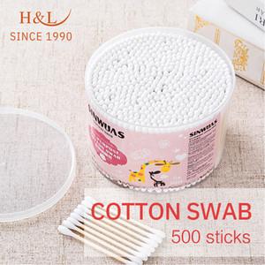HL desde 1990 transplantado cílios falsos cotonete de algodão descartável cotonetes cotonetes Descarregar