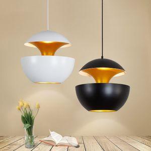 A Apple criativa ouro simples candelabro pequeno Pendente Lamp Restaurant Abajur Sala O estudo sótão Pendentes lâmpada acende