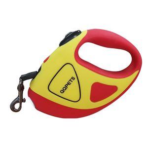Durable Dog Leash Nylon Retrátil Automático Levou Luz Coleira Collares Collar Para Perros Hundeleine Stretch Leash 45QY75