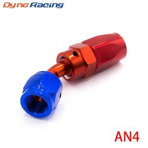 High Performance Fitting AN04 Aluminum Fittings 45 Degree Oil Fuel Swivel hose fittings Hose End Fitting TT100351-45