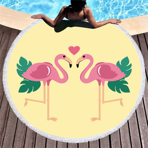 Seaside Beach Towel Soft Round Carpet Fashion Women Polyester Fiber Sofa Anti Fall More Color Portable New Products 26csC1