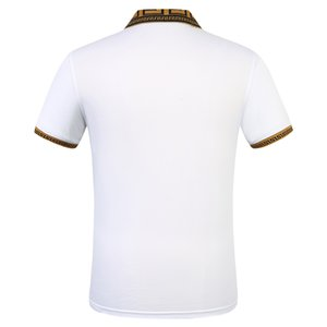 Brand designer summer breathable pure cotton casual T-shirt short sleeves for men and women
