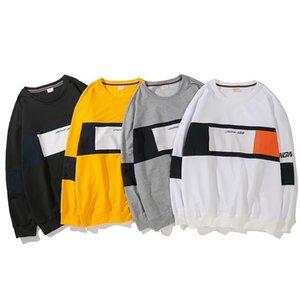mens tasarımcı kapüşonlu Japonya istasyon sezon kazak erkek kazak ceket Tide marka rahat ceket erkek uzun kollu tişört