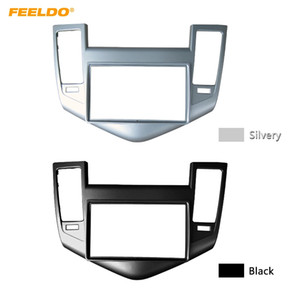 FEELDO Car Radio Panel Fascia Frame For CHEVROLET Cruze 2009+ Stereo 2Din Refitting Dash DVD Fitting Frame Mount Trim Kit #5056