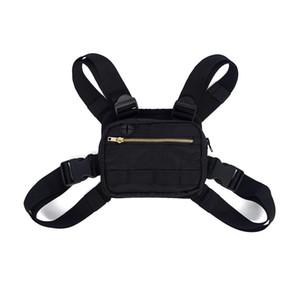 Дизайнер-2019 Мини Мужчины Chest Rig Streetwear Спорт на открытом воздухе сумка талии Climbing плечо сумка телефон Деньги пояс Tactical Chest